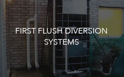 First-Flush-Diversion-Systems