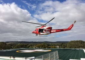 Frankston Hospital Helipad